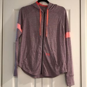 Under Armour loose hooded lightweight jacket M
